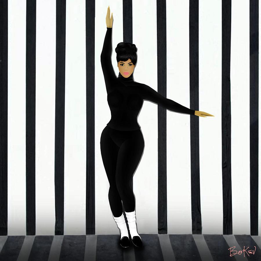 Beyonce Digital Art - Beyonce - Countdown by Bo Kev