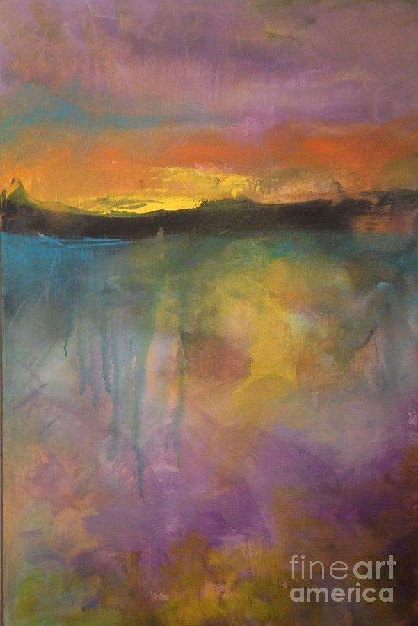 Abstract Painting - Beyond 3 by Terri Davis