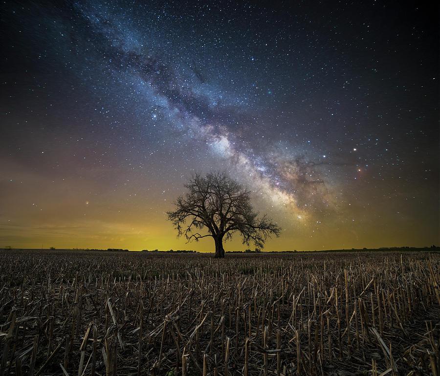 Sky Photograph - Beyond by Aaron J Groen