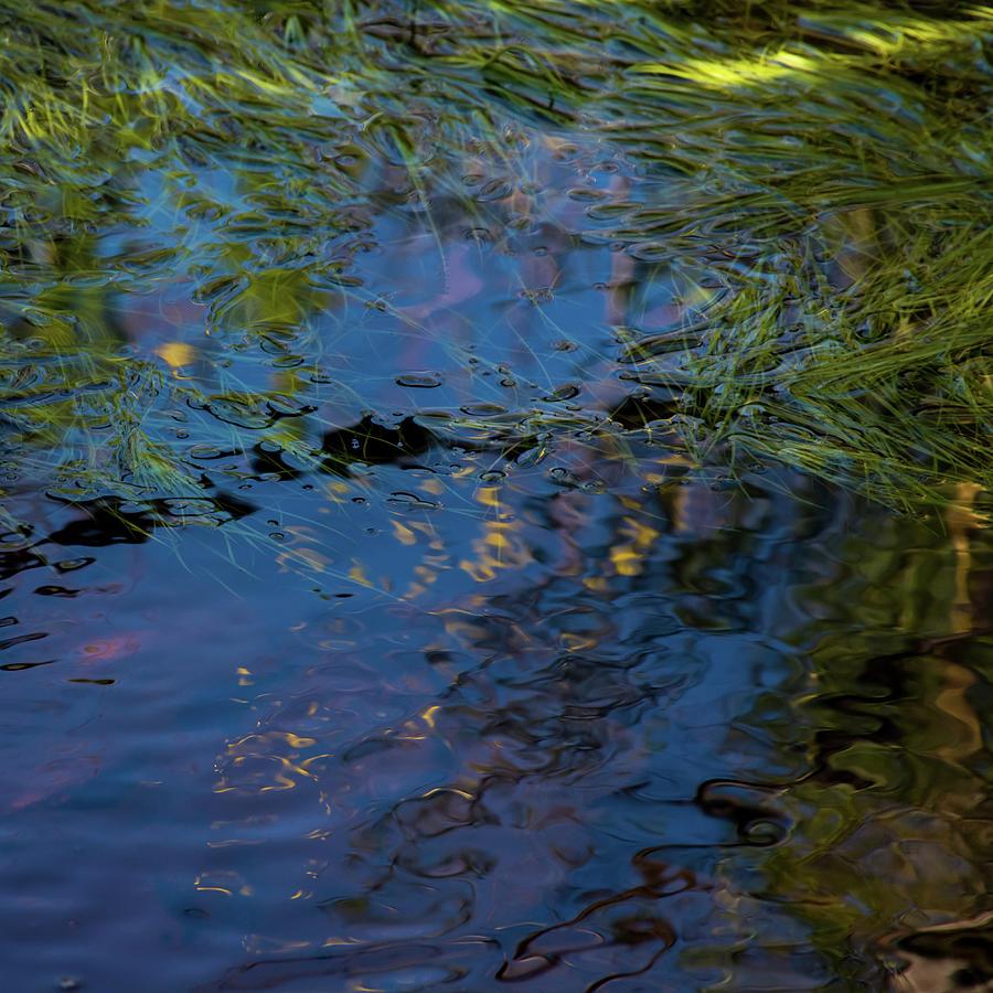 Water Photograph - Beyond Blue by Simon Sephton