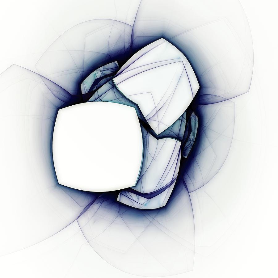 Abstract Digital Art - Beyond Logic by Scott Norris
