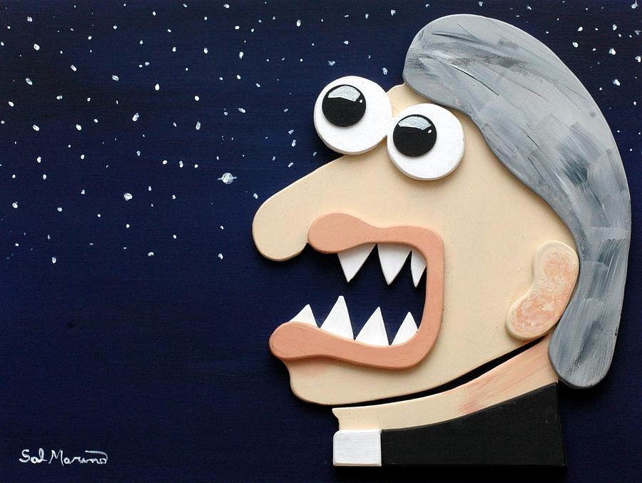Funism Sculpture - Beyond Stars by Sal Marino