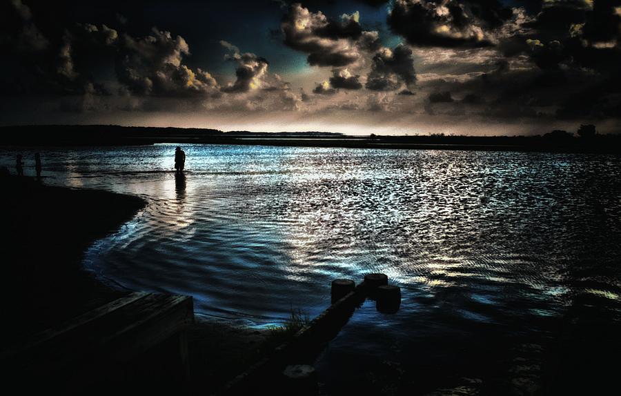 Beyond The Blue Horizon Photograph