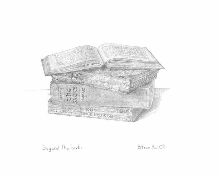 Words Are Not Enough Print - Beyond The Books by Steven Nussdorf