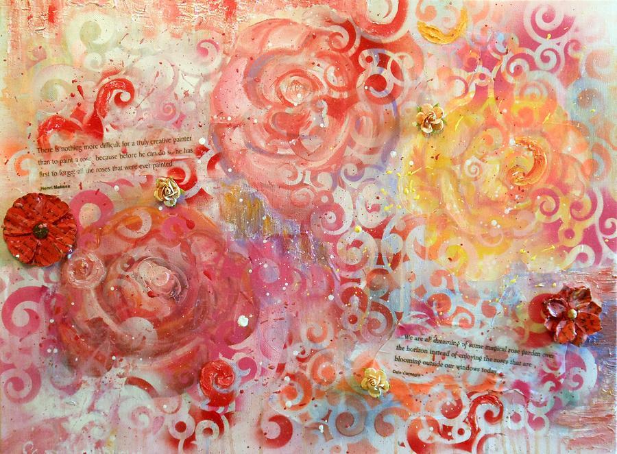 Beyond the Trellis by Pam Halliburton