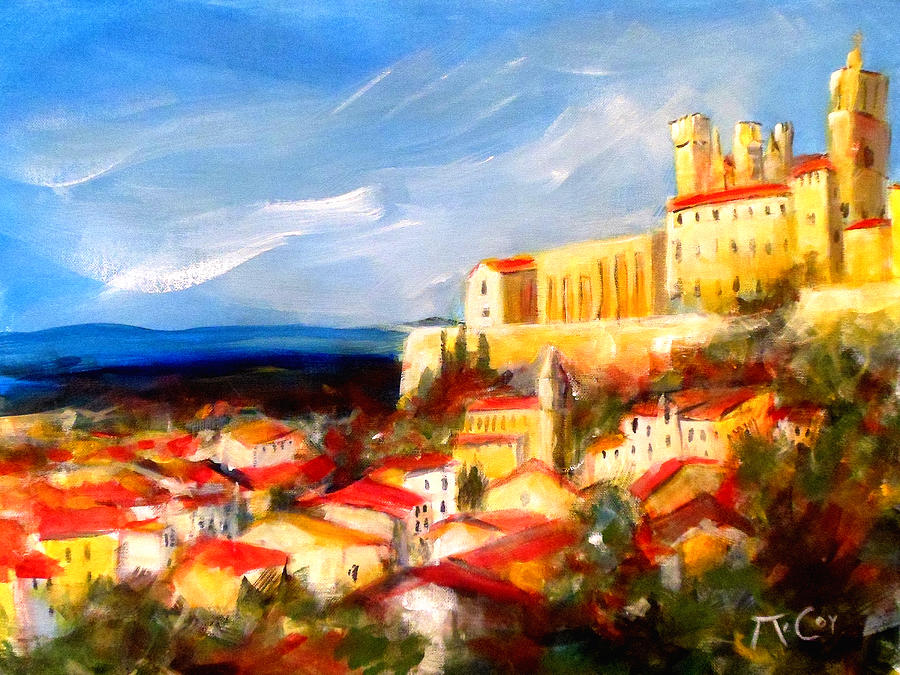Beziers Painting - Beziers by K McCoy
