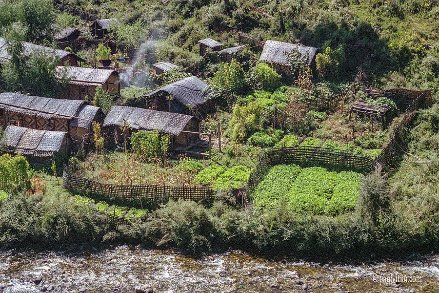 Bhutan neighborhood by Paul Vitko