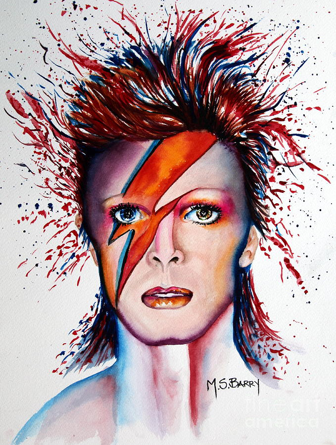 Bi Bi Bowie by Maria Barry