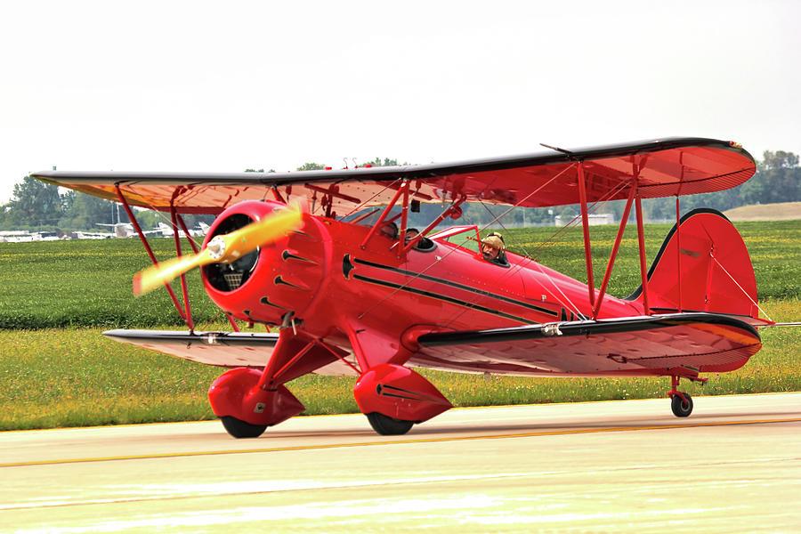 Bi Wing Plane Photograph