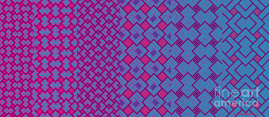 Bibi Khanum DS Patterns Mug No.4 by Mamoun Sakkal