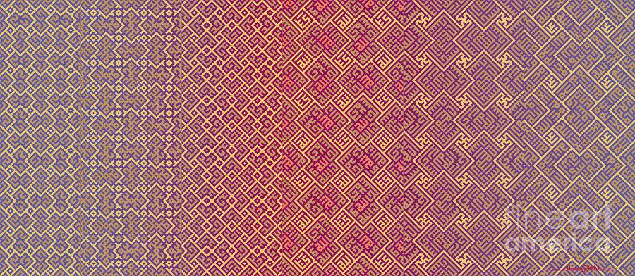Bibi Khanum DS Patterns Mug No.5 by Mamoun Sakkal