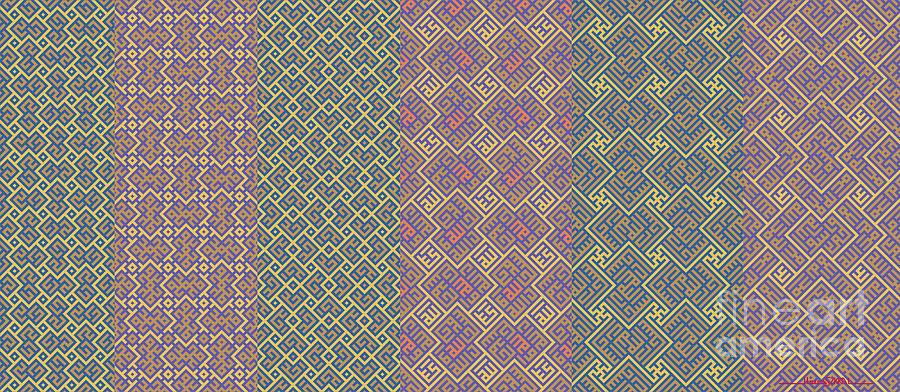 Bibi Khanum DS Patterns Mug No.9 by Mamoun Sakkal