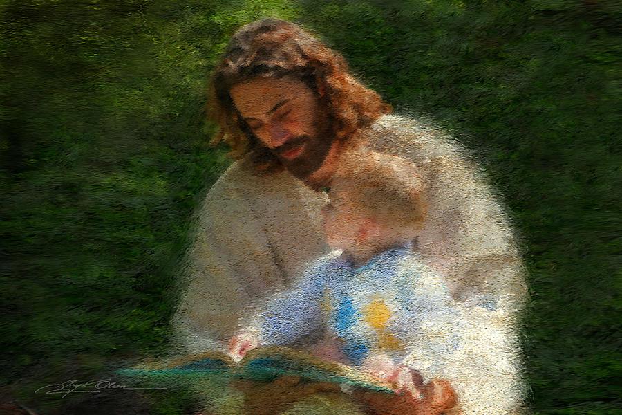 Jesus Painting - Bible Stories by Greg Olsen