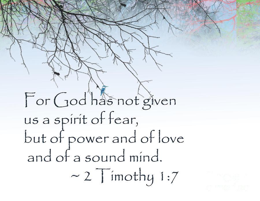 Bible Verse 2 Timothy 1 7