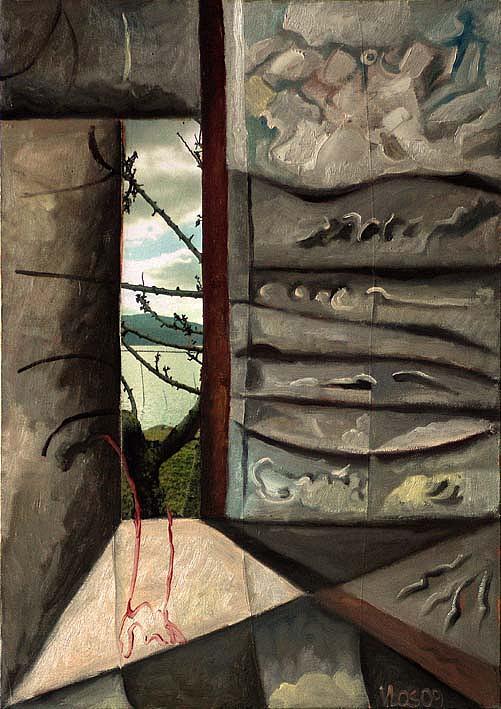 Biblioteca Painting by Vittorio Losito