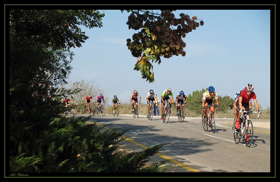 Bicycle Photograph - Bicycle Race by Arik Baltinester