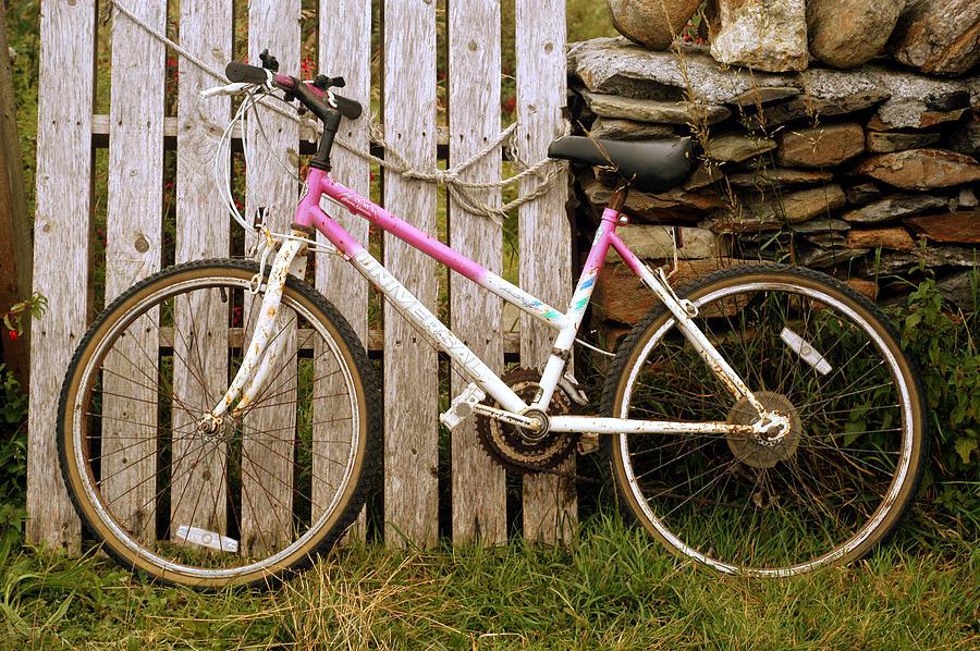 Bicycle Textures Digital Art by Thomas Hayden