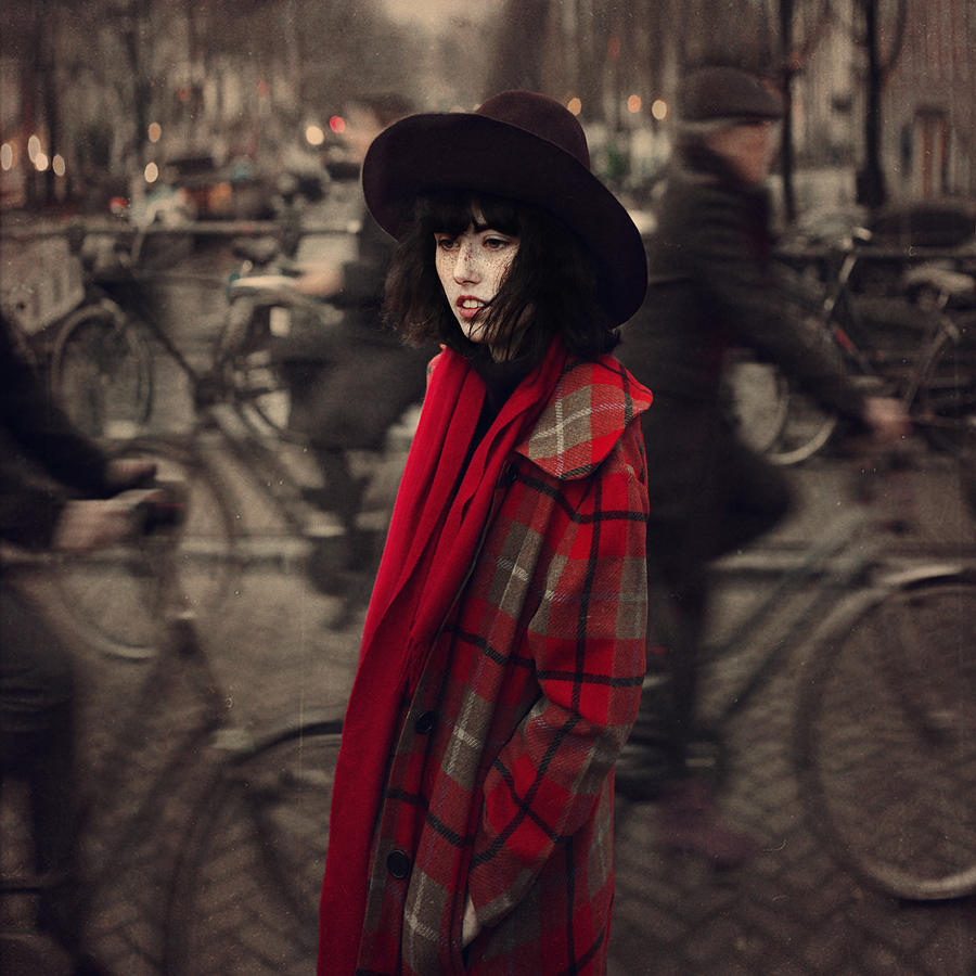 Bicycle Traffic  Photograph by Anka Zhuravleva
