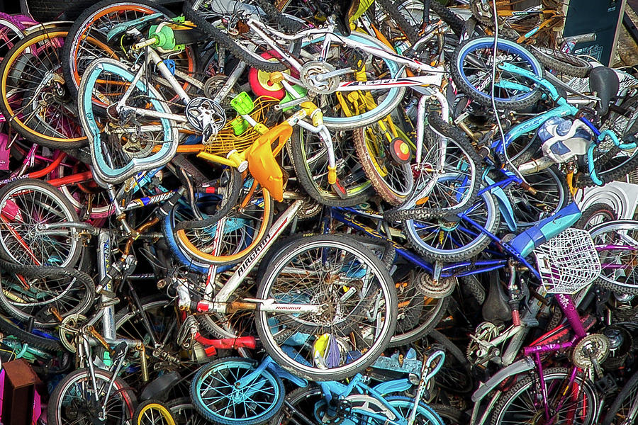 Bicycles by Paul Malcolm