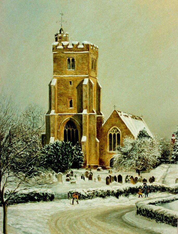 Biddenden Church Painting