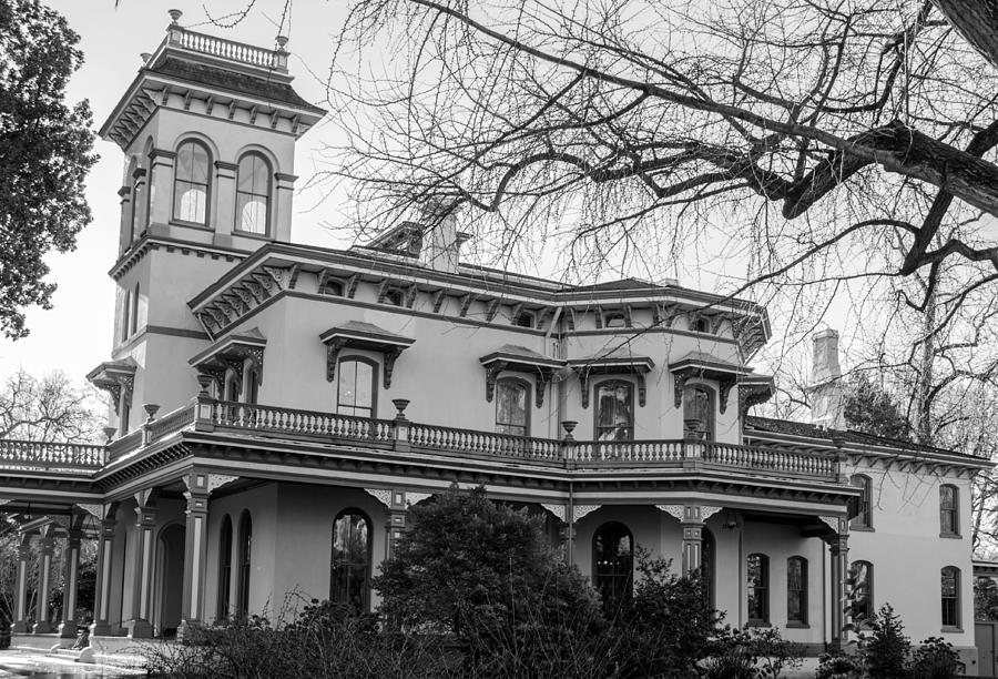 Bidwell Mansion Photograph By Tikvah S Hope
