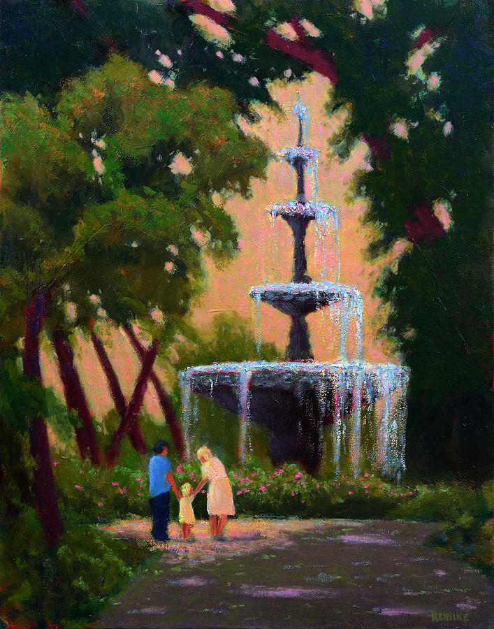 Bienville Square Fountain by Vernon Reinike