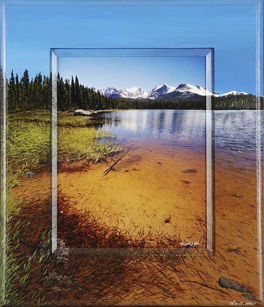 Rocky Photograph - Bierstadt Lake by Michael Albin