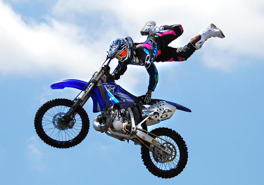 Motocross Photograph - Big Air by Craig Incardone