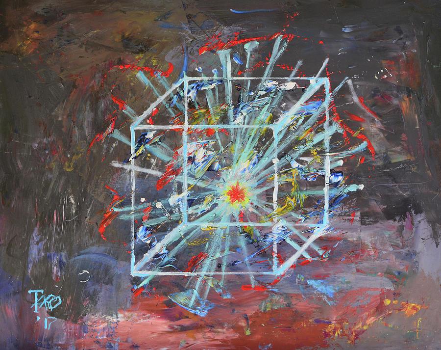 Big Bang Painting by Borislav Taro