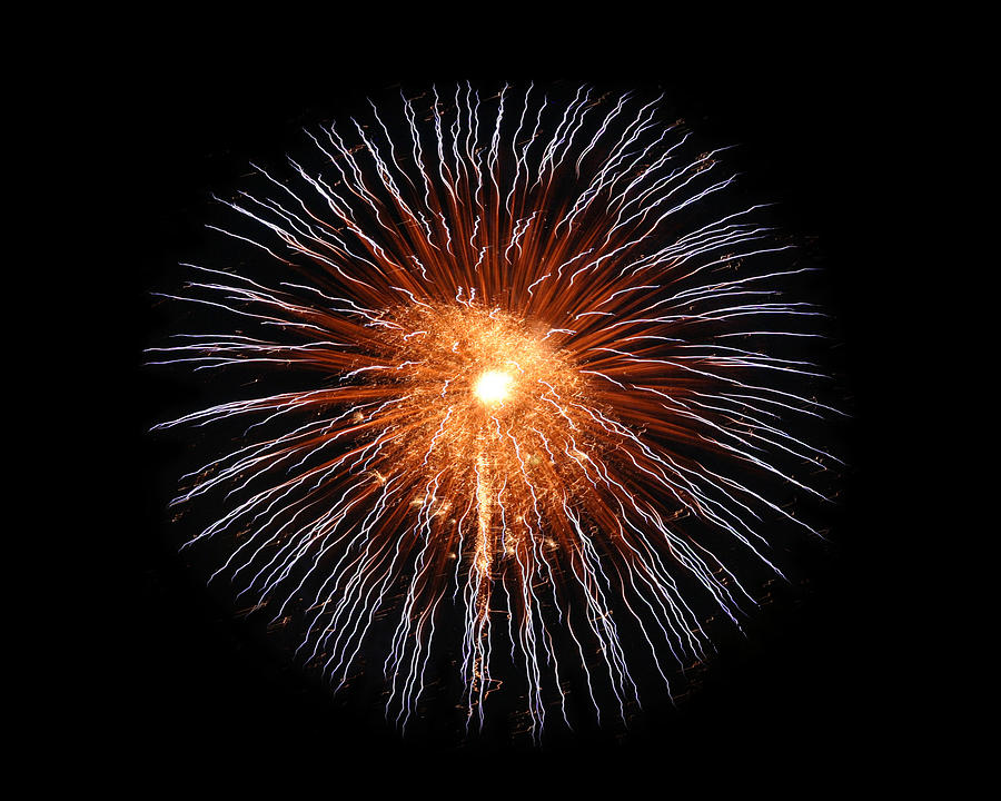 Fireworks Photograph - Big Bang by Gary Gunderson