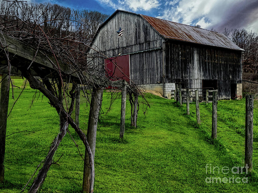Barn Photograph - Big Barn by Elijah Knight