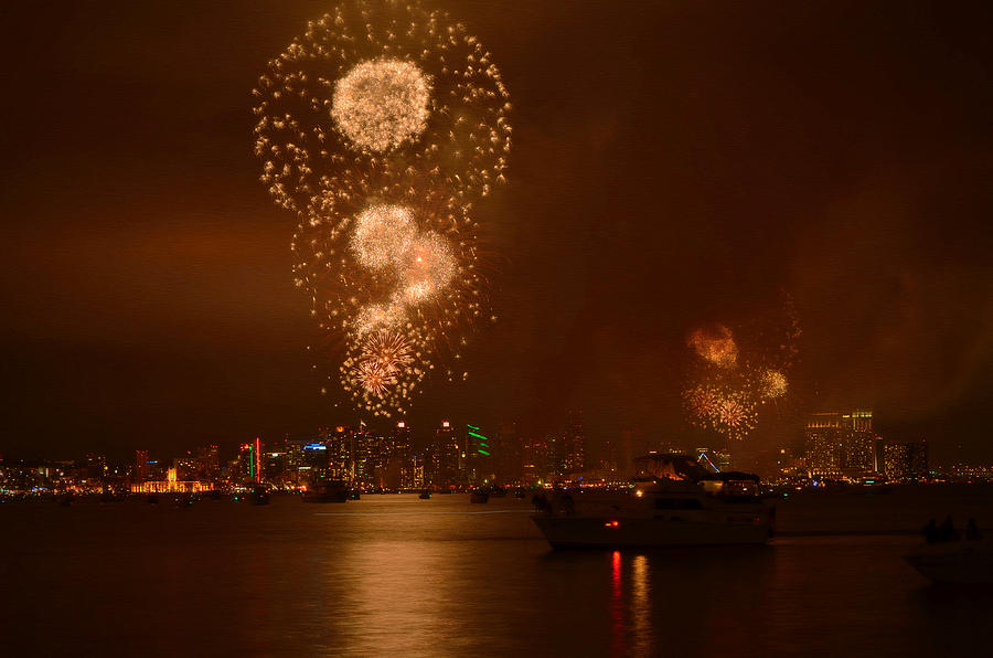 Independence Day Photograph - Big Bay Boom by See My  Photos