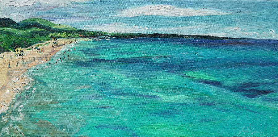Big Painting - Big Beach by Joseph Demaree