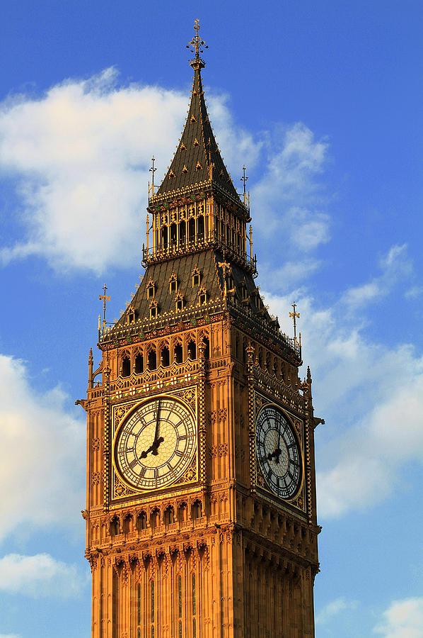 Big Ben Photograph - Big ben by Adam Sworszt