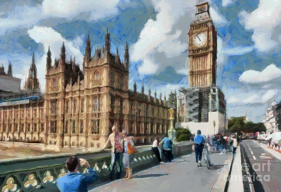 Big Ben and Parliament by Mick Flynn