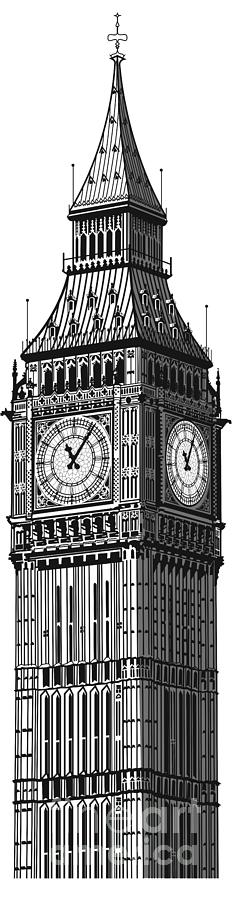 Big Ben Digital Art - Big Ben by Doug LaRue