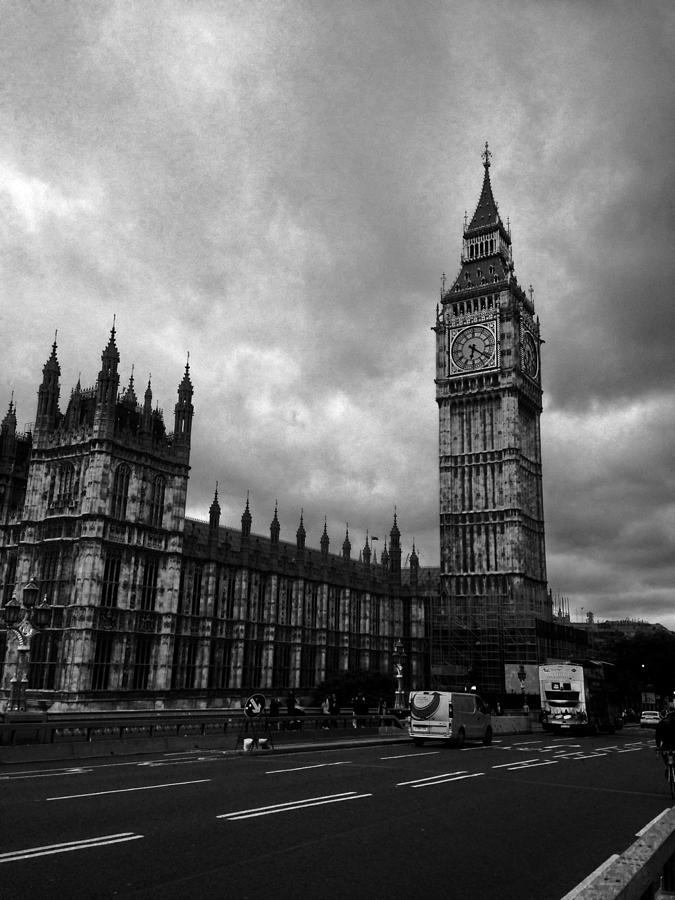 London England Photograph - Big Ben by Garrett Blum