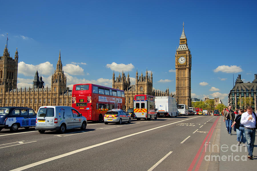 Central London Photograph - Big Ben London by Donald Davis