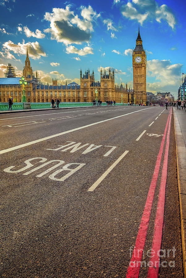 London Photograph - Big Ben Westminster by Adrian Evans
