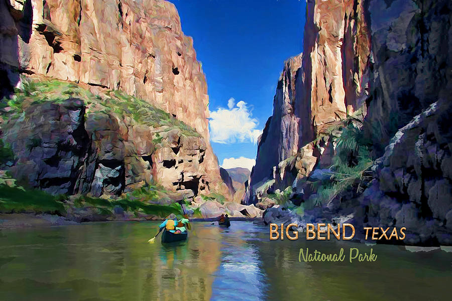 Big Bend Texas National Park Mariscal Canyon Text Big Bend Texas - Texas national parks