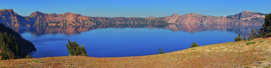 Crater Lake Photograph - Big Blue by Greg Norrell