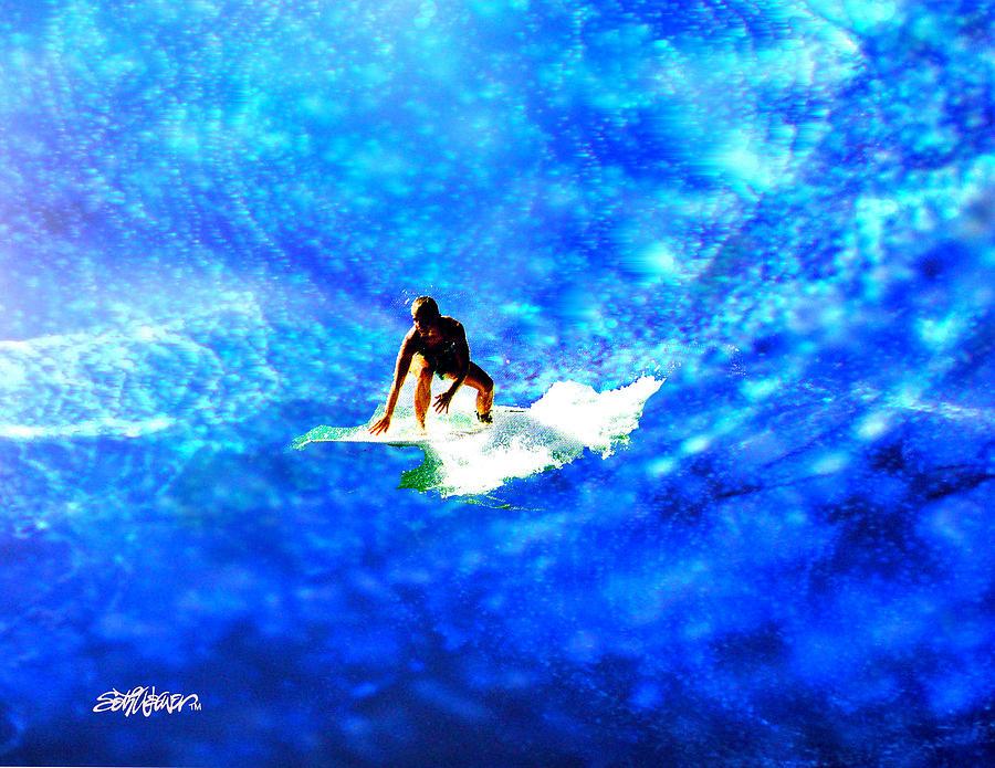 Big Digital Art - Big Blue by Seth Weaver