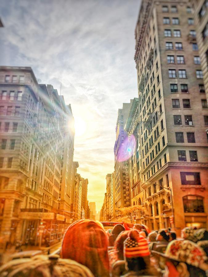 Big City, Bigger Life Photograph by Brandon Stevens