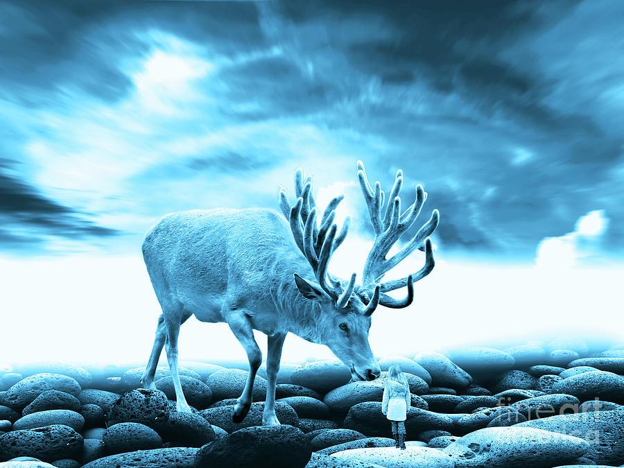 Big Deer Digital Art