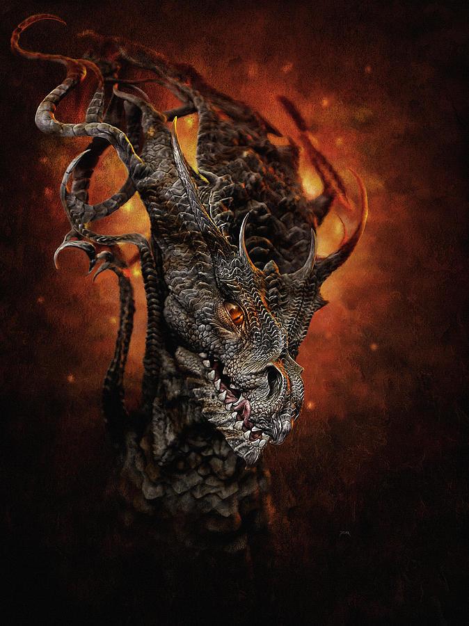 Big Dragon Digital Art