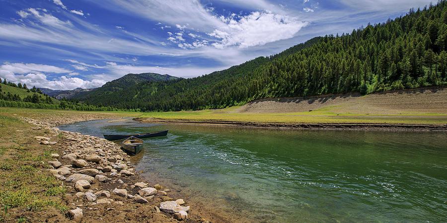 Idaho Photograph - Big Elk Creek by Chad Dutson