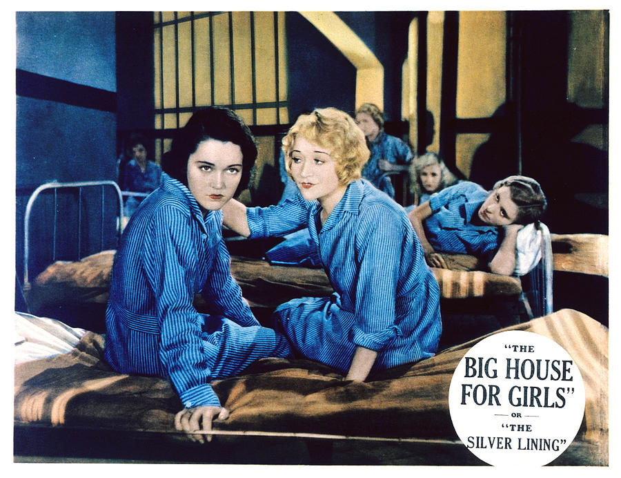 1930s Movies Photograph - Big House For Girls Aka The Silver by Everett