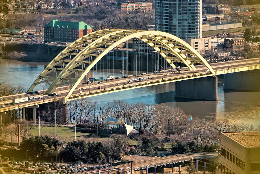 big mac bridge photograph by phyllis taylor