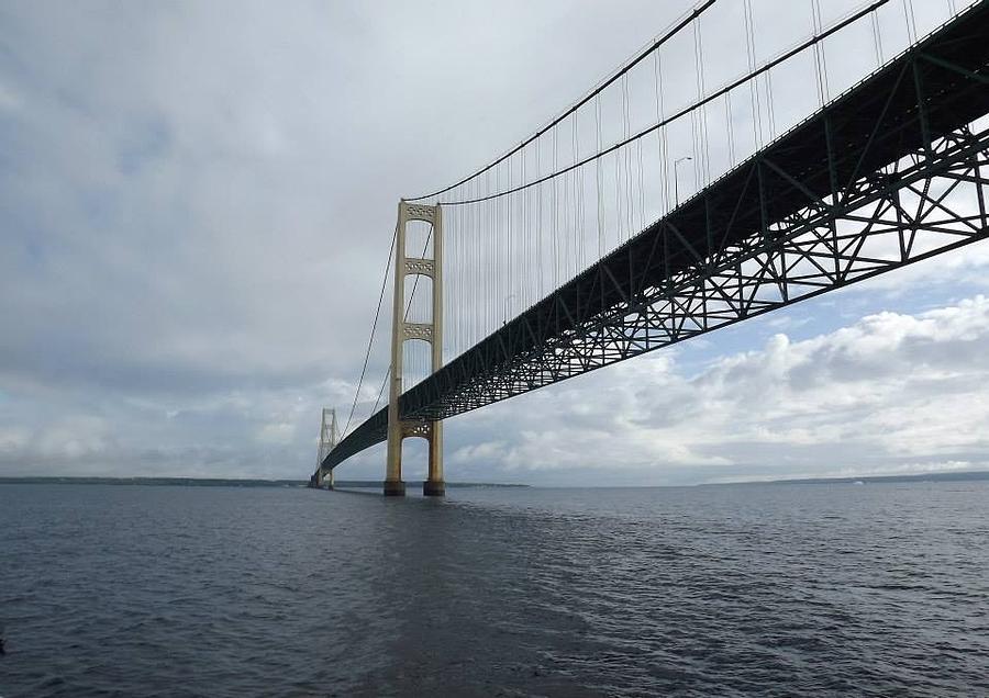 big mac bridge photograph by rodney robertson