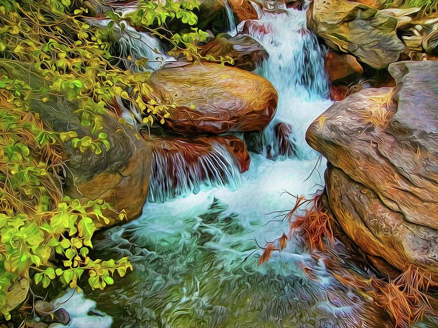 Big Pine Creek by Frank Lee Hawkins
